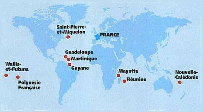 Possessions Françaises Doutre Mer