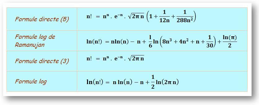 calcul logarithme